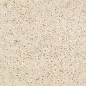 A pedra NFT ML é um calcário de cor bege claro, com grão médio e dureza média. Ocasionalmente pode apresentar algumas sombras e é marcado pela presença de pequenos fósseis acastanhados.